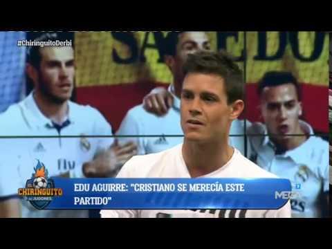 """Edu Aguirre: """"Cristiano ha demostrado una vez más que es el MEJOR JUGADOR de la HISTORIA del Madrid"""""""