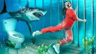 Побег из подводной тюрьмы Забавные и неловкие моменты