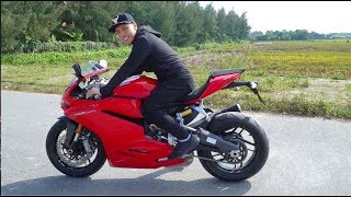 ducati panigale start up