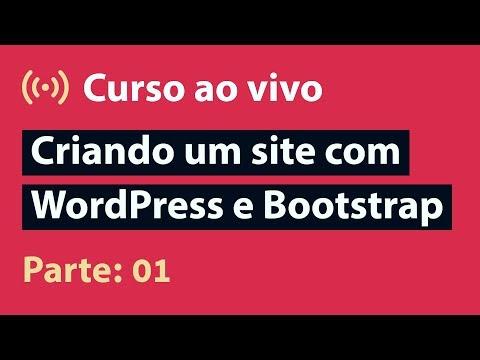 🔴 Live: UI Design | Criando Um Site Com WordPress E Bootstrap - Parte 01