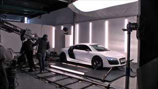AUDI R8 V10 plus ADD behind the scenes commercial