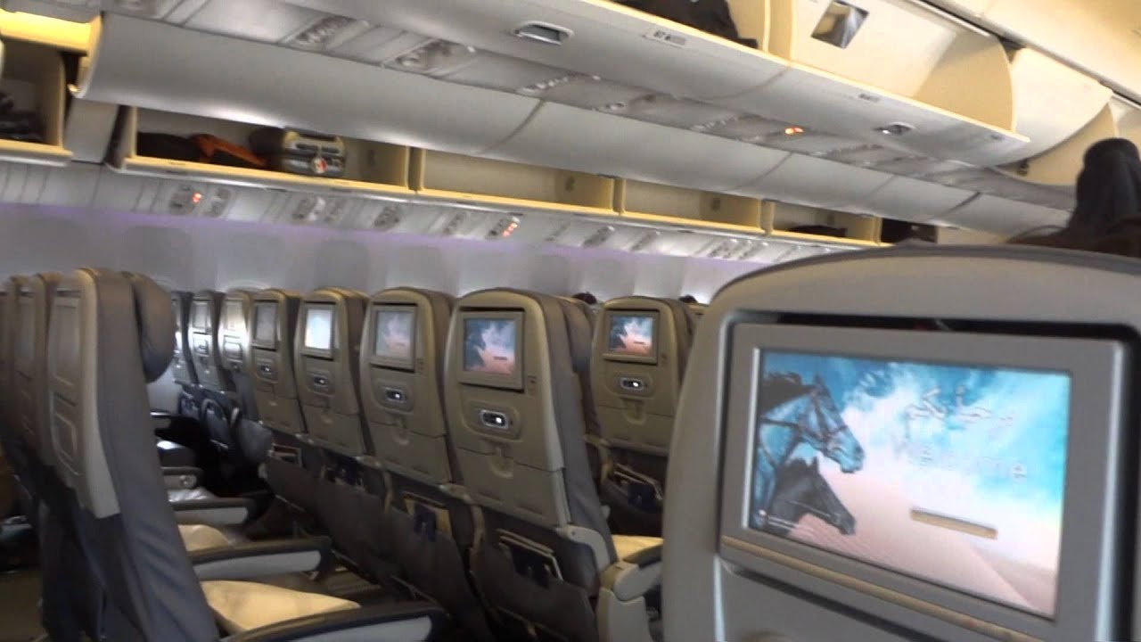Inside B773 Saudi Arabian Airlines Youtube