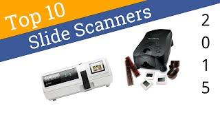 10 Best Slide Scanners 2015