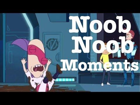Rick and Morty | season 3 episode 4 | funny Noob Noob moments