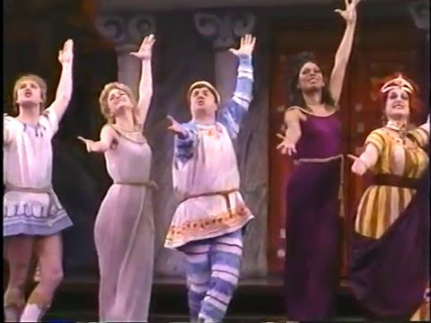 "NATHAN LANE in FORUM '96-""Comedy Tonight"""