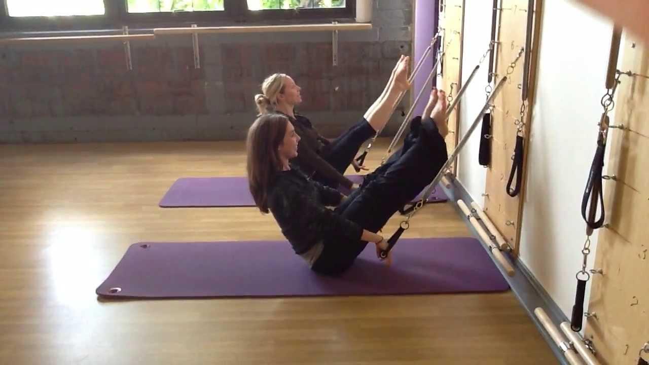 Pilates Springboard Teaser Variation YouTube