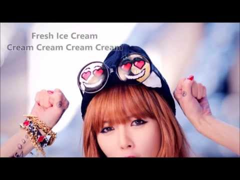 HyunA - Ice Cream - English Lyrics On Screen