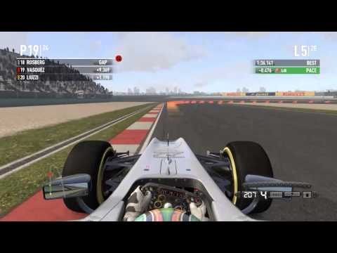 F1 2011 Carrier Mode(HRT) : China/Shanghai(3/19)