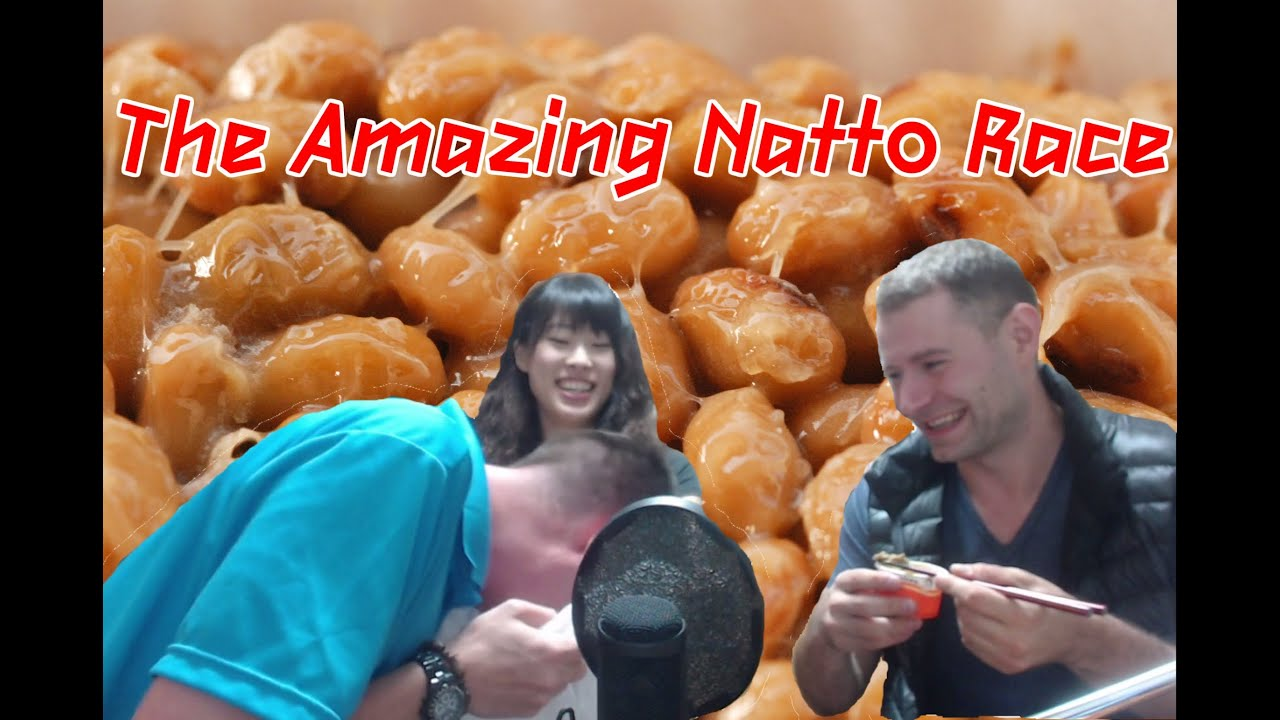 Natto Race Japan Ultimate Foreigner Food Challenge