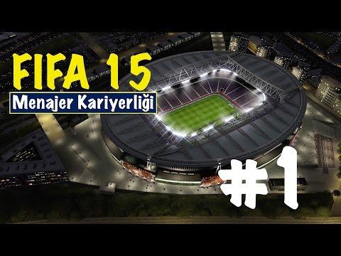 FIFA 15: Kariyer Modu - Bölüm 1 - Maceramız Başlıyor