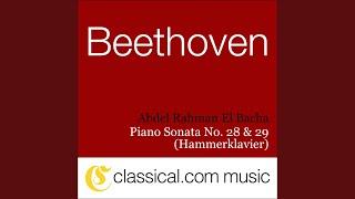 Piano Sonata No. 29 in B flat, Op. 106 (Hammerklavier) - Scherzo: Assai vivace - Presto - Tempo...