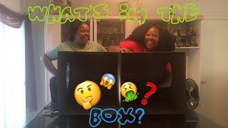 WHAT'S IN THE BOX CHALLENGE!! (Loser Drinks Nasty Concoction!!)
