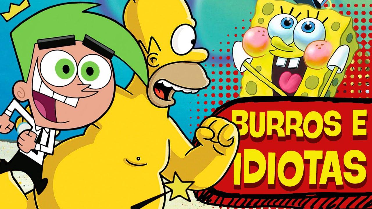 Os 5 personagens mais idiotas dos desenhos animados
