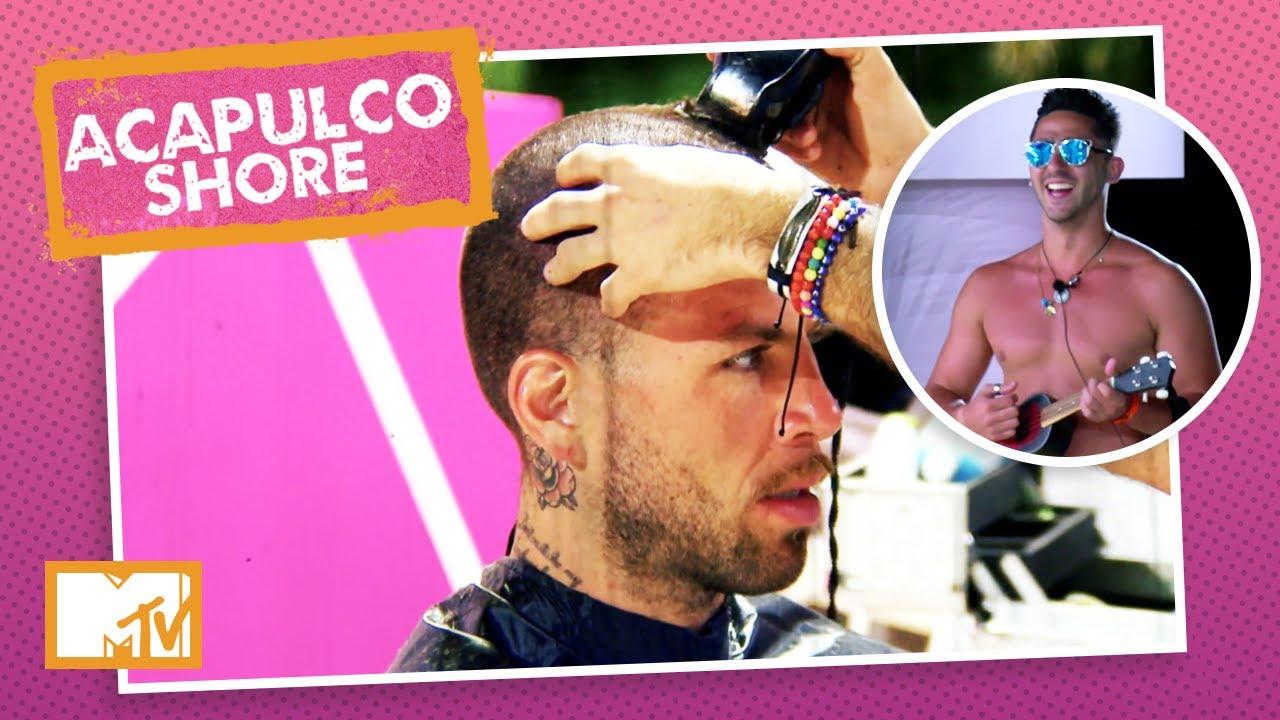 Hora de pagar a aposta: Jawy e Tadeo têm que raspar a cabeça | MTV Acapulco Shore T3 E4