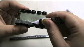 Armor/ AFV model workshop 81: Tank tracks attachment tutorial