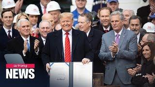 Trump signs USMCA, calls it