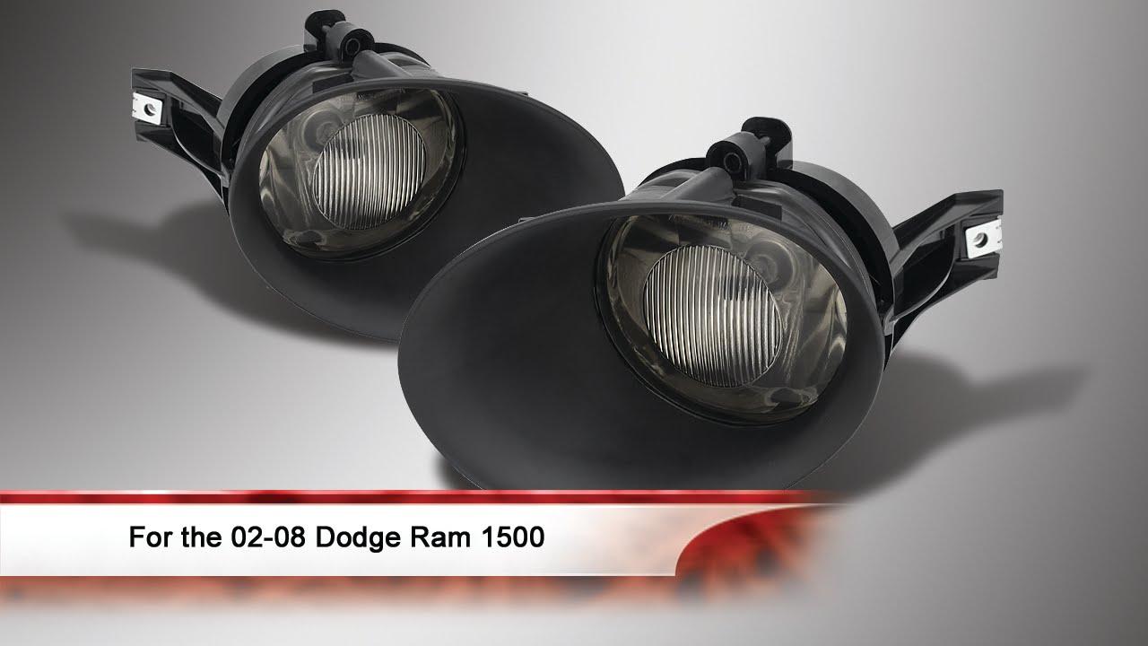 02 08 Dodge Ram 04 06 Durango Fog Lights With Switch