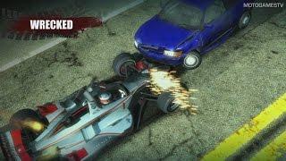 Burnout Paradise on Xbox One Gameplay - Backward Compatibility