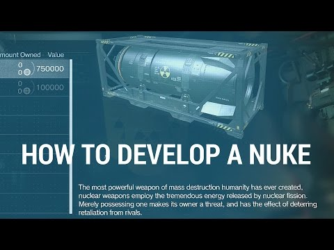 Metal Gear Solid V: The Phantom Pain - How To Develop A Nuke