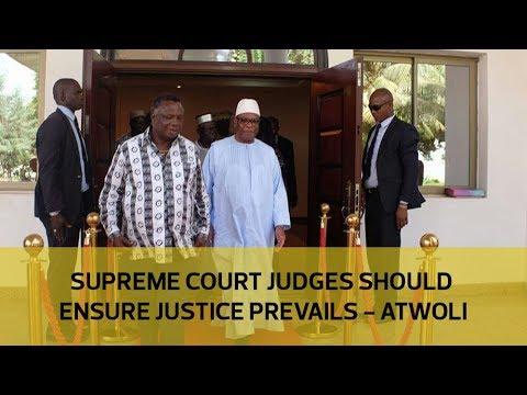 Supreme Court judges should ensure justice prevails - Atwoli