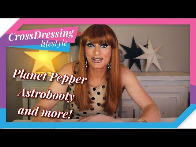 Crossdressing Planet Pepper Astrobooty / Astrolacy shapewear review