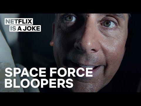 Space Force Season 1 Blooper Reel | Netflix Is A Joke