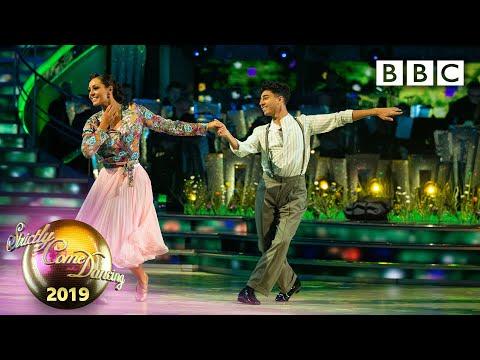 Karim and Amy American Smooth to Sweet Caroline - Week 12 Semi-Final   BBC Strictly 2019
