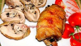 Балатин ( рулетики из куриных бедрышек )/ Balatin ( Roll of chicken thighs)