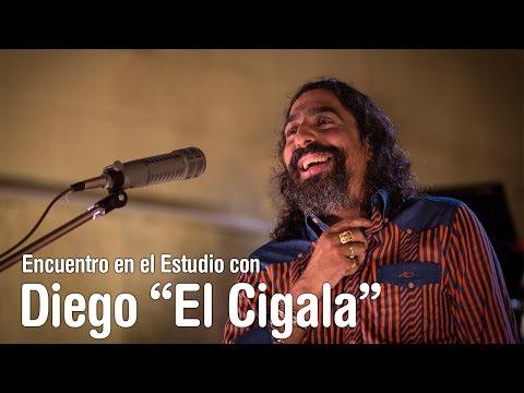 """Diego """"El Cigala"""" - Por una cabeza - Encuentro en el Estudio - Temporada 7"""