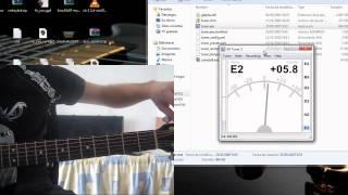 AP Tuner Tutorial - Afinar Guitarra