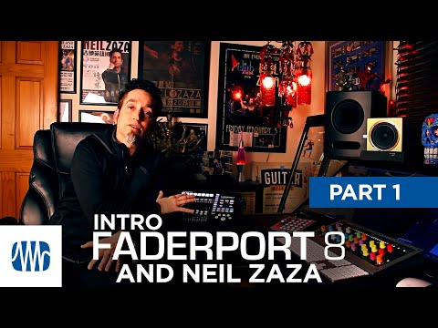 PreSonus—Neil Zaza on the Faderport 8 Part 1: Intro