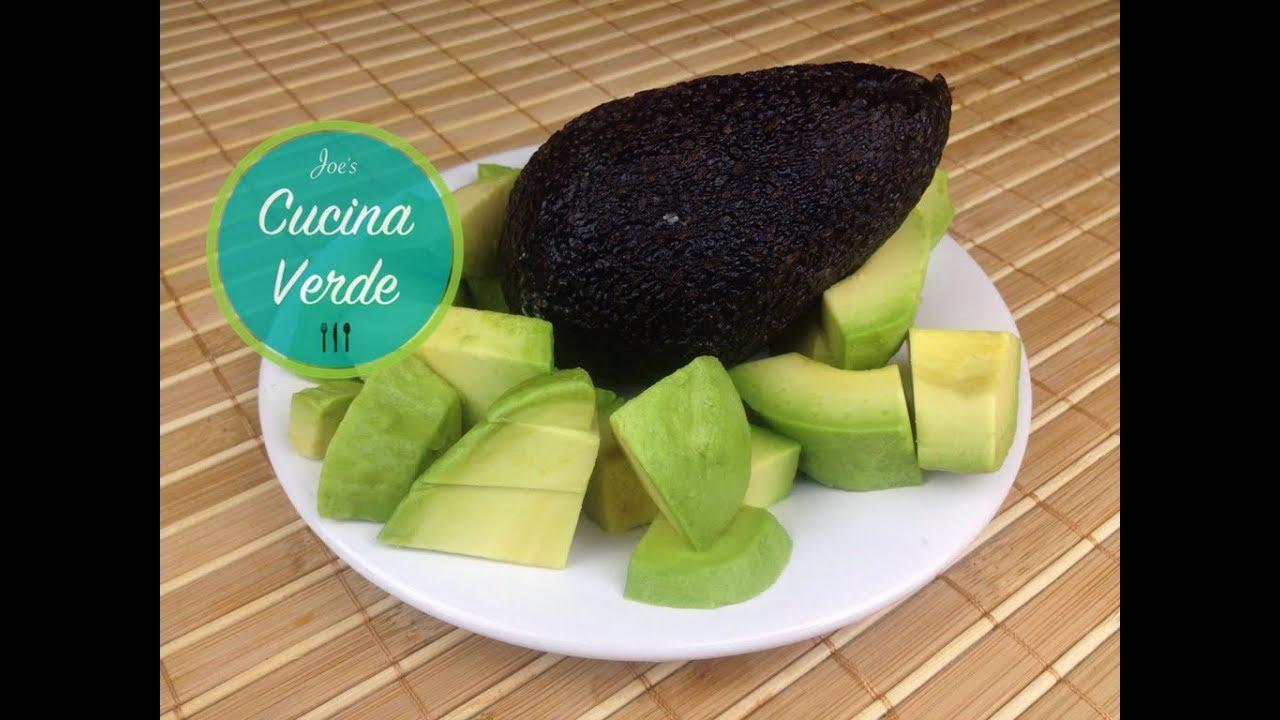 avocado schneiden und richtig sch len avocado zubereiten youtube. Black Bedroom Furniture Sets. Home Design Ideas