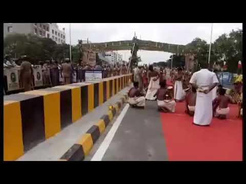 Coimbatore Bridge opening started CM Edappadi palaniswami | Gandhipuram flyover opening started News