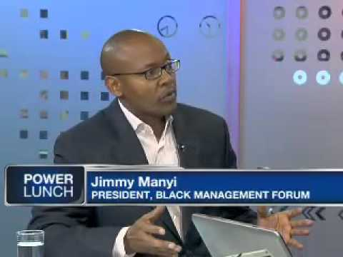 Black South African investors own 18% of the available share capital on the JSE