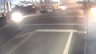 RAW: OSU releases video of CABS bus crash, outside shuttle