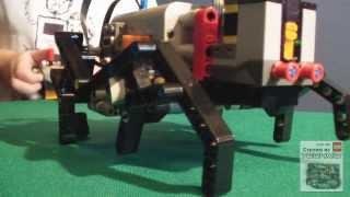 Паук из LEGO Technic