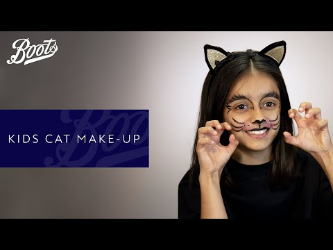 Halloween | Kids Cat Halloween Makeup Tutorial | Boots UK