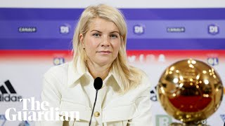 'He could have asked something different': Ada Hegerberg on twerking question at Ballon d'Or