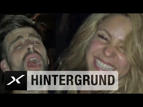 Shakira und Champagner: So lief Barcas Party-Nacht in Berlin   Juventus Turin - FC Barcelona 1:3