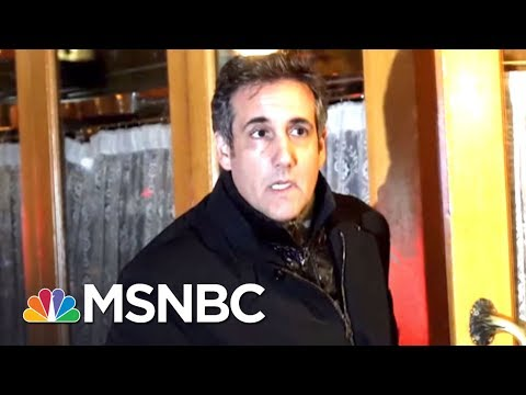FBI Raid Of Michael Cohen\'s Office Tied To \'Access Hollywood\' Tape: NYT | MSNBC