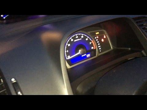How To Reset OIL LIFE % Light Gauge On Honda Civic Accord Pilot Odyssey CRV