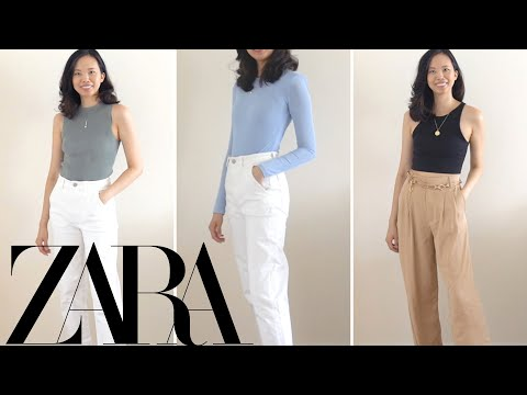 ZARA TRY ON HAUL | *NEW IN* transitional pieces + Fall 2020 outfit ideas