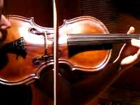 GLUCK MELODIE, VIOLIN SOLO, Beautiful Piece Played on Rare, Unusual John Bohmann Violin