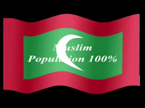 Islamic Countries Flags & Names Their Capital City and Muslim Population %