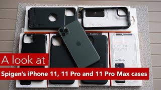 A look at Spigen's iPhone 11, 11 Pro and 11 Pro Max cases