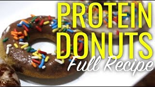 HEALTHY PROTEIN DONUT RECIPE