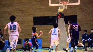 つくばロボッツvs三菱電機名古屋 バスケットボール 2015.3.1vol.38 五十...