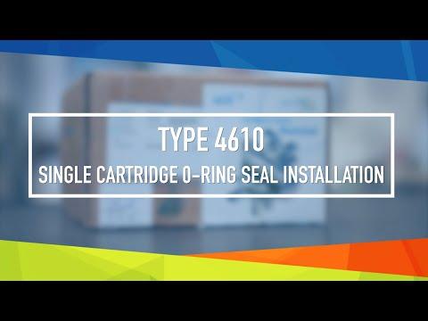 John Crane Type 4610 Cartridge Seal Installation Video