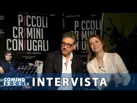 Piccoli crimini coniugali: Intervista di Coming Soon a Sergio Castellitto e Margherita Buy  HD