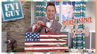 Fyi Guy: Picket Fence American Flag